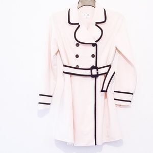 Light Pink Dress Trench Coat